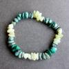 Bracelet - Jade citron / Malachite / Turquoise africaine (jaspe)