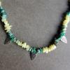 Collier - Jade Citron / Malachite / Turquoise africaine