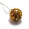 Collier avec pendentif Bille (pierre au choix)