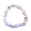 Bracelet - Calcédoine bleue / Chrysoprase / Quartz rose / Opale rose / Larimar (commande)